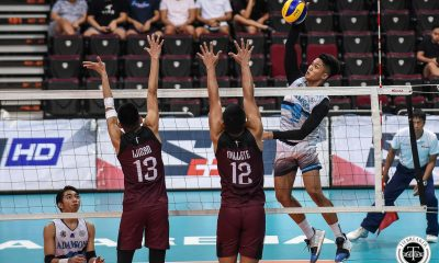 Tiebreaker Times Pao Pablico fires 31 to lead Adamson Soaring Falcons past UP AdU News UAAP UP Volleyball  UP Men's Volleyball UAAP Season 81 Men's Volleyball UAAP Season 81 Rald Ricafort Pao Pablico Mark Millete Jesus Valdez Jerry San Pedro Jadewin Gudoy Carlo Jimenez Adamson Men's Volleyball
