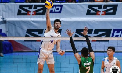 Tiebreaker Times Tony Koyfman powers Ateneo Blue Eagles past La Salle ADMU DLSU News UAAP Volleyball  UAAP Season 81 Men's Volleyball UAAP Season 81 Tony Koyfman Timothy Santo Tomas Ron Medalla Manuel Sumanguid Lawrence Magadia DLSU Men's Volleyball Cris Dumago Billie Anima Ateneo Men's Volleyball Arnold Laniog