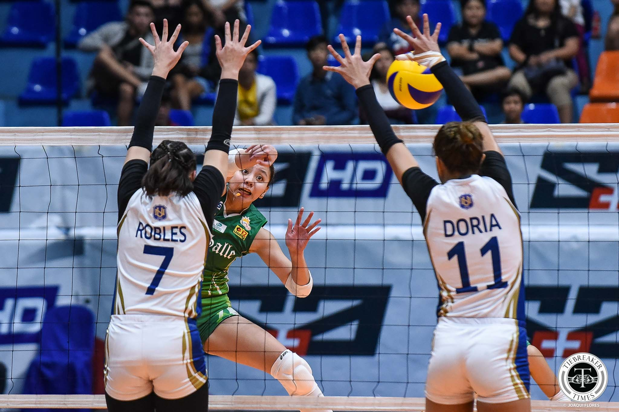 Tiebreaker Times Des Cheng snaps out of funk, looks to be La Salle's leader moving forward DLSU News UAAP Volleyball  UAAP Season 81 Women's Volleyball UAAP Season 81 DLSU Women's Volleyball Des Cheng