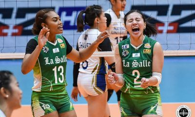 Tiebreaker Times Des Cheng-powered La Salle Lady Spikers regain form, vent ire on NU DLSU News NU UAAP Volleyball  UAAP Season 81 Women's Volleyball UAAP Season 81 Tin Tiamzon Rose Doria Ramil De Jesus Princess Robles NU Women's Volleyball Norman Miguel Michelle Cobb DLSU Women's Volleyball Des Cheng CJ Saga
