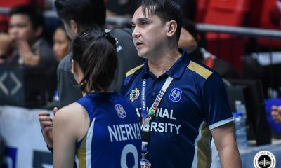 Tiebreaker Times Fatigue setting in for young NU Lady Bulldogs, admits Norman Miguel News NU UAAP Volleyball  UAAP Season 81 Women's Volleyball UAAP Season 81 NU Women's Volleyball Norman Miguel