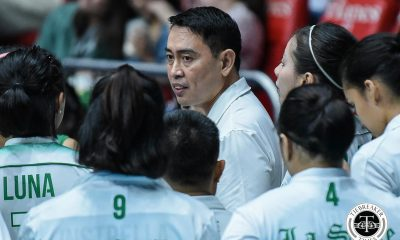 Tiebreaker Times La Salle Lady Spikers silent after disappointing back-to-back losses DLSU News UAAP Volleyball  UAAP Season 81 Women's Volleyball UAAP Season 81 Ramil De Jesus DLSU Women's Volleyball