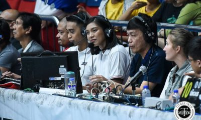 Tiebreaker Times Alyssa Valdez brings signature charm to broadcast booth News UAAP Volleyball  UAAP Season 81 Women's Volleyball UAAP Season 81 Alyssa Valdez