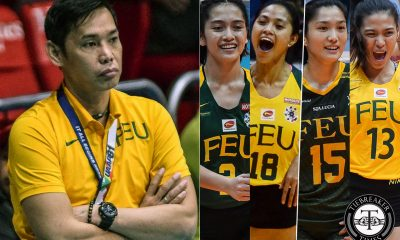 Tiebreaker Times George Pascua credits consistently solid FEU program for producing PWNVT talent FEU News UAAP Volleyball  UAAP Season 81 Women's Volleyball UAAP Season 81 Philippine Women's National Volleyball Team Lycha Ebon Jerilli Malabanan Jeanette Villareal Ivana Agudo George Pascua Gel Cayuna FEU Women's Volleyball Celine Domingo Buding Duremdes