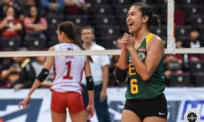 Tiebreaker Times Ivana Agudo making most of sudden starting opportunity FEU News UAAP Volleyball  UAAP Season 81 Women's Volleyball UAAP Season 81 Ivana Agudo FEU Women's Volleyball