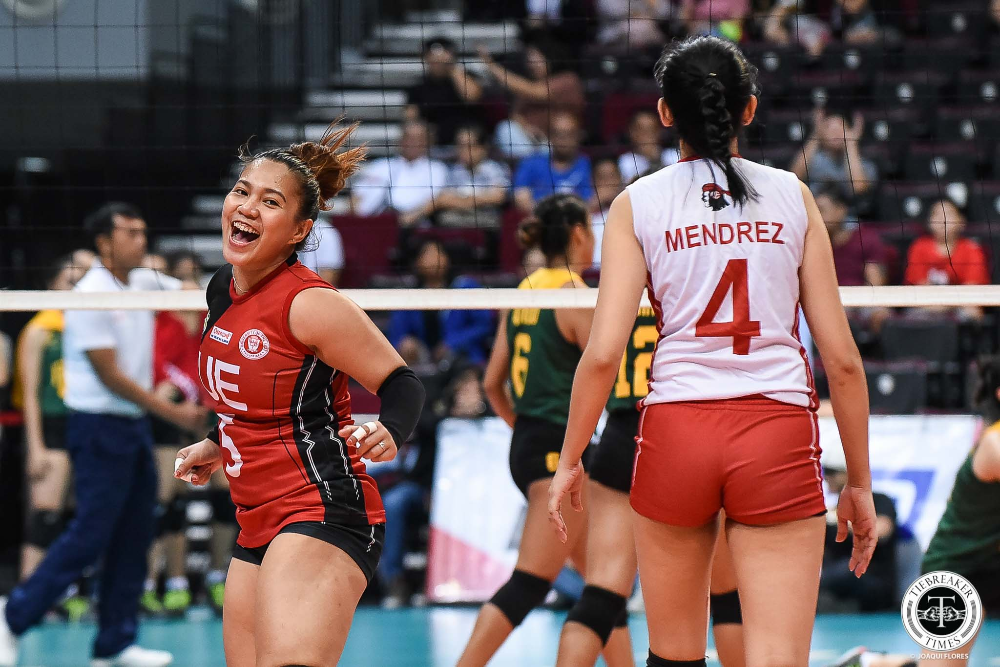 Tiebreaker Times As UAAP career winds down, Kath Arado gets more sentimental with each final matchup News UAAP UE Volleyball  UE Women's Volleyball UAAP Season 81 Women's Volleyball UAAP Season 81 Kath Arado
