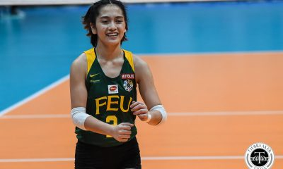 Tiebreaker Times Lycha Ebon hopeful for UAAP Season 82 return FEU News UAAP Volleyball  UAAP Season 82 Women's Volleyball UAAP Season 82 Lycha Ebon George Pascua FEU Women's Volleyball