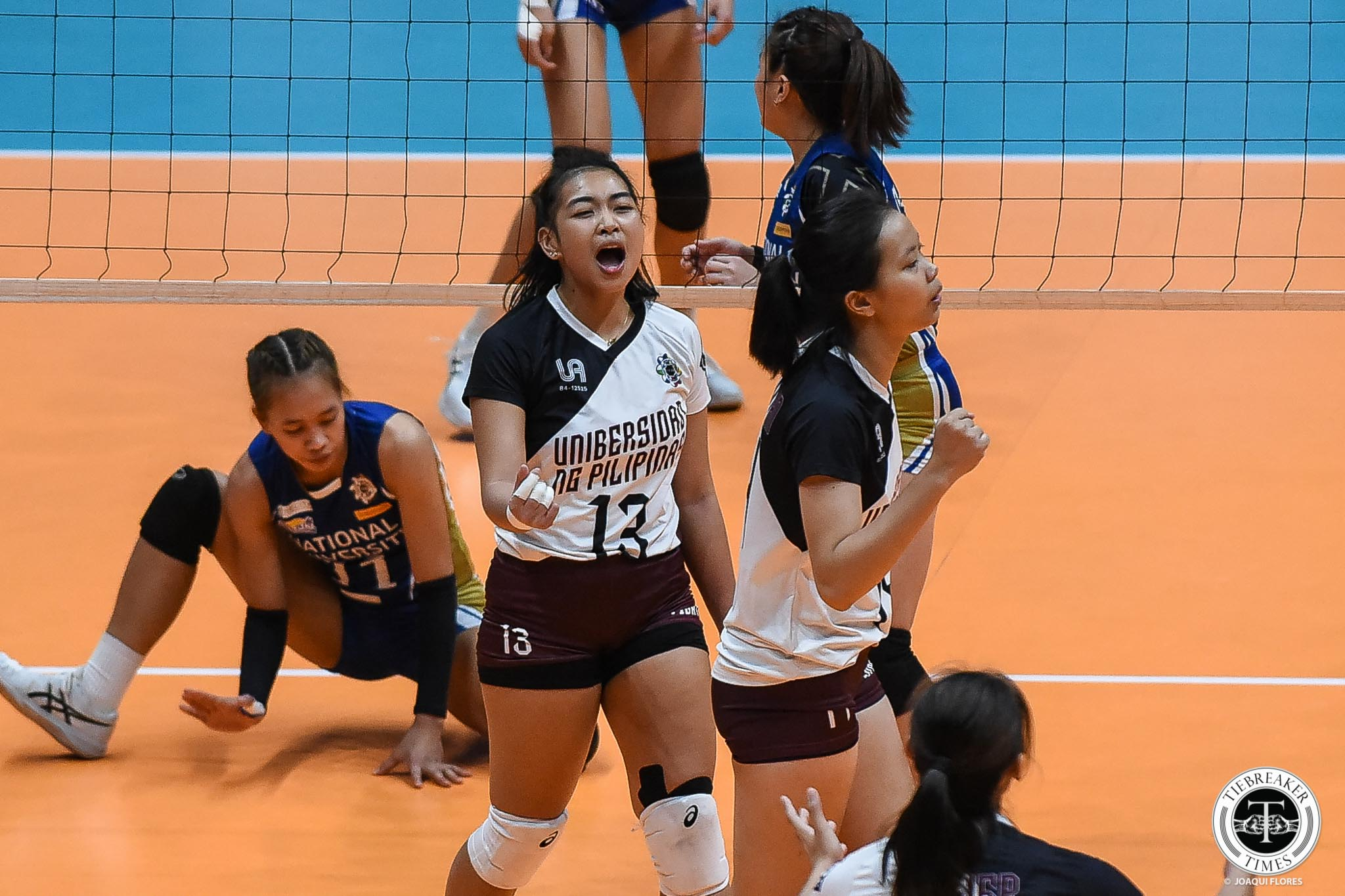 Tiebreaker Times Okumu expects UP Lady Maroons to bounce back: 'We are no longer a team in progress' News UAAP UP Volleyball  UP Women's Volleyball UAAP Season 81 Women's Volleyball UAAP Season 81 Godfrey Okumu
