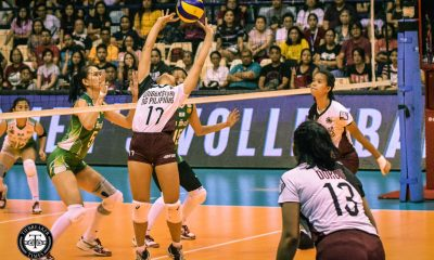 Tiebreaker Times More to come for hot-again UP Lady Maroons, says Ayel Estrañero News UAAP UP Volleyball  UP Women's Volleyball UAAP Season 81 Women's Volleyball UAAP Season 81 Godfrey Okumu Ayel Estranero