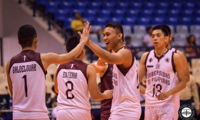 Tiebreaker Times UP Fighting Maroons end 7-game slide, gain redemption against UE News UAAP UE UP Volleyball  Victor Turing UP Men's Volleyball UE Men's Volleyball UAAP Season 81 Men's Volleyball UAAP Season 81 Rald Ricafort Nico Consuelo Mark Millete Lloyd Josafat John Madrigalejos Jerahmeel Baldelovar Clifford Inoferio