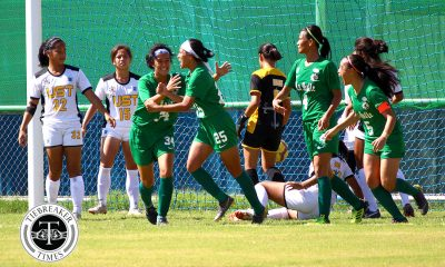 Tiebreaker Times La Salle, UST play out pulsating stalemate in Finals rematch DLSU Football News UAAP UST  UST Women's Football UAAP Season 81 Women's Football UAAP Season 81 Shai del Campo Nicole Reyes Natasha Lacson Mary Joy Indac Kyra Dimaandal Hazel Lustan Hans-Peter Smit DLSU Women's Football Aging Rubio