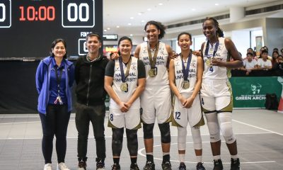 Tiebreaker Times Animam, Itesi, Del Carmen pay tribute to 'powerful' yet 'shy' Ria Nabalan Basketball News NU UAAP  UAAP Season 81 Women's Basketball UAAP Season 81 Ria Nabalan Rhena Itesi NU Women's Basketball Monique del Carmen Jack Ainmam