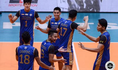 Tiebreaker Times Bryan Bagunas, NU Bulldogs show might over Ateneo in Finals rematch ADMU News NU UAAP Volleyball  UAAP Season 81 Men's Volleyball UAAP Season 81 Tony Koyfman Timothy Santo Tomas Ron Medalla Ricky Marcos NU Men's Volleyball Nico Almendras Joshua Retamar Dante Alinsunurin Bryan Bagunas Ateneo Men's Volleyball