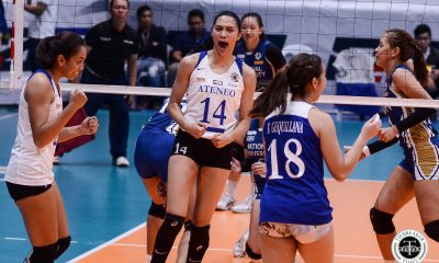 Tiebreaker Times Ateneo Lady Eagles strongest when Maddie-BDL show gets going ADMU News UAAP Volleyball  UAAP Season 81 Women's Volleyball UAAP Season 81 Maddie Madayag Bea De Leon Ateneo Women's Volleyball