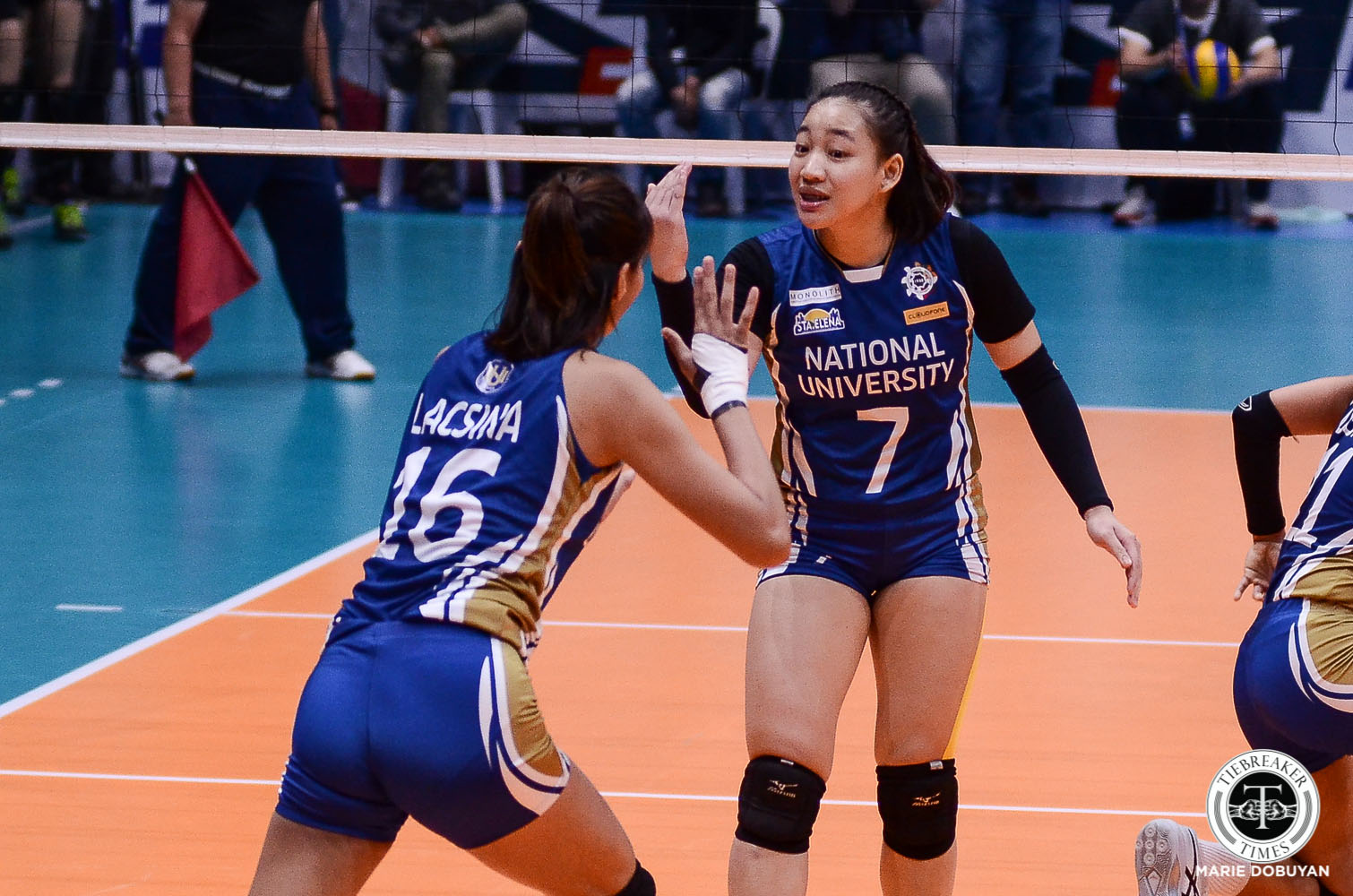 Tiebreaker Times NU suffers major blow as Robles, Cagande ruled out of UAAP Season 82 News NU UAAP Volleyball  UAAP Season 82 Women's Volleyball UAAP Season 82 Princess Robles NU Women's Volleyball Joyme Cagande Jennifer Nierva