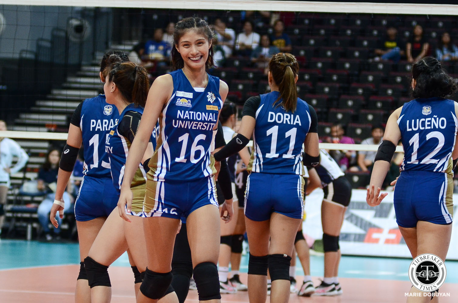 Tiebreaker Times Ivy Lacsina looks to step out of Jaja's shadow News NU UAAP Volleyball  UAAP Season 82 Women's Volleyball UAAP Season 82 NU Women's Volleyball Jaja Santiago Ivy Lacsina
