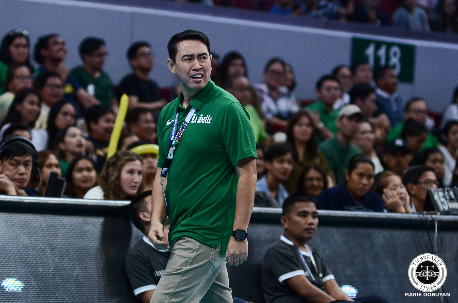 Tiebreaker Times Ramil De Jesus hopes La Salle can surprise Ateneo again DLSU News UAAP Volleyball  UAAP Season 81 Women's Volleyball UAAP Season 81 Ramil De Jesus DLSU Women's Volleyball