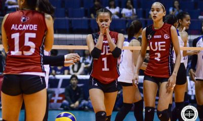 Tiebreaker Times Judith Abil on UE Lady Warriors' woeful outing: 'Nawala lang talaga kumpiyansa namin' News UAAP UE Volleyball  UE Women's Volleyball UAAP Season 81 Women's Volleyball UAAP Season 81 Karl Dimaculangan Judith Abil