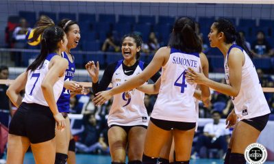 Tiebreaker Times Ponggay Gaston determined to keep improving ADMU News UAAP Volleyball  UAAP Season 81 Women's Volleyball UAAP Season 81 Ponggay Gaston Ateneo Women's Volleyball