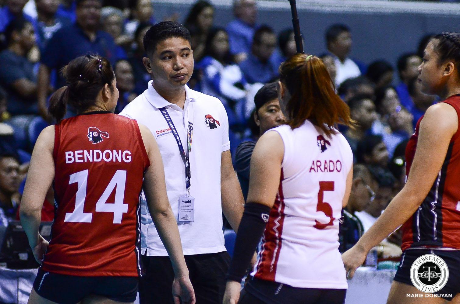 UAAP81_Women-Vball-ADMU-vs-UE-UE-Head-COach-0809 Judith Abil on UE Lady Warriors' woeful outing: 'Nawala lang talaga kumpiyansa namin' News UAAP UE Volleyball  - philippine sports news