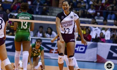 Tiebreaker Times Ayel Estranero more motivated after food poisoning incident News UAAP UP Volleyball  UP Women's Volleyball UAAP Season 81 Women's Volleyball UAAP Season 81 Ayel Estranero