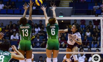 Tiebreaker Times UP Lady Maroons stain La Salle's record, bag third win DLSU News UAAP UP Volleyball  UP Women's Volleyball UAAP Season 81 Women's Volleyball UAAP Season 81 Tots Carlos Rem Altomea Ramil De Jesus Jolina Dela Cruz Isa Molde Godfrey Okumu DLSU Women's Volleyball Ayel Estranero Aduke Ogunsanya