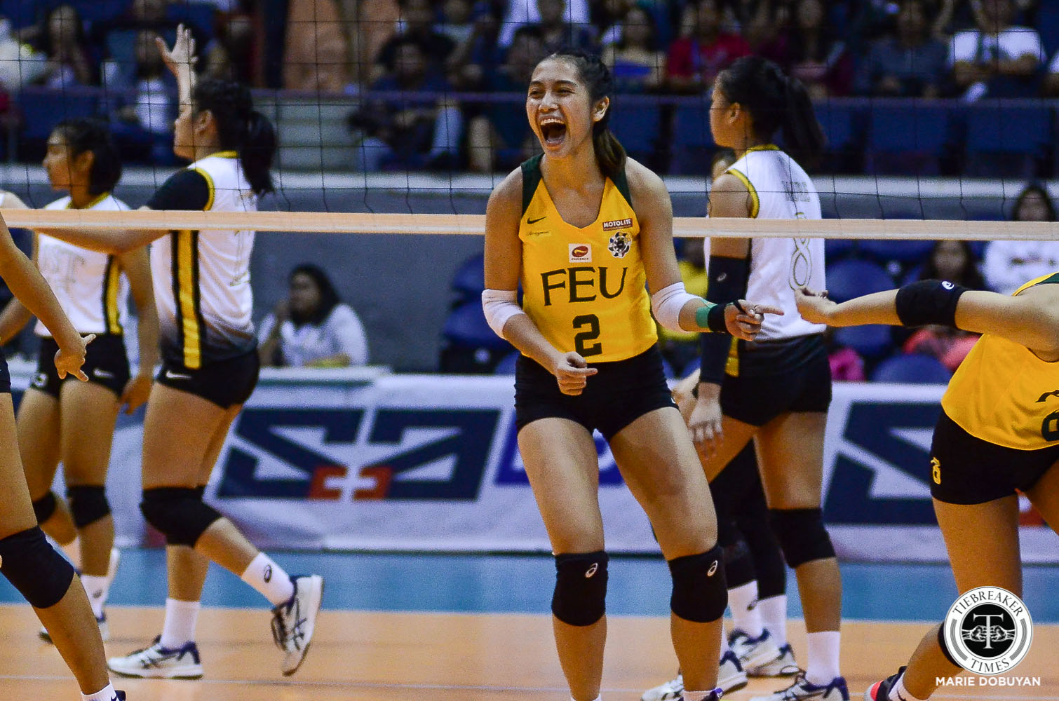 Tiebreaker Times Lycha Ebon looks to make up for lost time with FEU Lady Tamaraws FEU News UAAP Volleyball  UAAP Season 82 Women's Volleyball UAAP Season 82 Lycha Ebon FEU Women's Volleyball