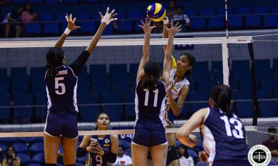 Tiebreaker Times Young Ivy Lacsina shows will beyond her years News NU UAAP Volleyball  UAAP Season 81 Women's Volleyball UAAP Season 81 NU Women's Volleyball Ivy Lacsina