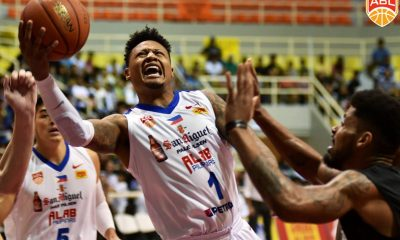 Tiebreaker Times Alab Pilipinas loses pole position in fight-marred home game against Formosa ABL Alab Pilipinas Basketball News  Will Artino Tevin Glass PJ Ramos Jimmy Alapag Formosa Dreamers Caelan Tiongson Bobby Ray Parks Jr. ABL Season 9 2018-19 ABL Season
