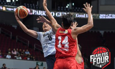 Tiebreaker Times Gerry Abadiano went for broke in NU's NBTC Finals-clinching win over San Beda Basketball NBTC News NU  NU Juniors Basketball Gerry Abadiano 2019 NBTC Season