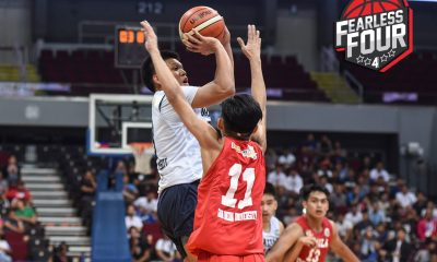 Tiebreaker Times NU Bullpups, LSGH Greenies forge NBTC National title rematch Basketball CSB FEU NBTC News NU SBC  San Beda Juniors Basketball RJ Abarrientos Rhayyan Amsali Penny Estacio NU Juniors Basketball LSGH Juniors Basketball Joel Cagulangan Jiam Quiambao Goldwin Monteverde FEU Juniors Basketball 2019 NBTC Season