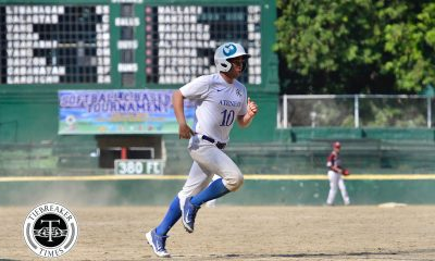 Tiebreaker Times Ateneo Blue Eagles deal UP worst loss of season, remain solo first ADMU Baseball News UAAP UP  UP Baseball UAAP SEASON 81 Baseball UAAP Season 81 Radito Banzon Nico Lozano Luis Benedicto Gio Salvattiera Bocc Bernardo Ateneo Baseball Anthony Dizer Allen Mercado
