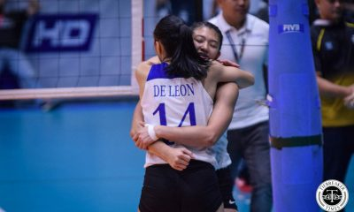 Tiebreaker Times If blocking is what Ateneo needs, Maddie Madayag is always willing to provide ADMU News UAAP Volleyball  UAAP Season 81 Women's Volleyball UAAP Season 81 Maddie Madayag Ateneo Women's Volleyball