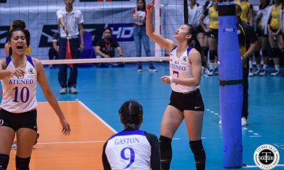 Tiebreaker Times Chooks/Collegiate PC Maddie Madayag looks back on breaking blocks record ADMU News UAAP Volleyball  UAAP Season 81 Women's Volleyball UAAP Season 81 UAAP Player of the Week Maddie Madayag Chooks-to-Go