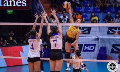 Tiebreaker Times Had Sisi Rondina broken Alyssa Valdez's record, UST might have had a chance News UAAP UST Volleyball  UST Women's Volleyball UAAP Season 81 Women's Volleyball UAAP Season 81 Cherry Rondina