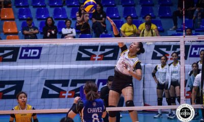 Tiebreaker Times UST Tigresses clinch back-to-back wins, quell NU News NU UAAP UST Volleyball  UST Women's Volleyball UAAP Season 81 Women's Volleyball UAAP Season 81 Sisi Rondina Princess Robles NU Women's Volleyball Norman Miguel MaFe Galanza Kungfu Reyes Janel Delerio Ivy Lacsina Eya Laure