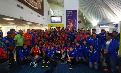 Tiebreaker Times Team Pilipinas arrive in Darwin for Arafura Games News POC/PSC  Philip Delarmino Marc Velasco 2019 Arafura Games
