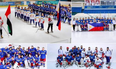 Tiebreaker Times Philippines breaks through with maiden Women's Challenge Cup gold Ice Hockey News  Shaden Ganac Kyla Herbolario Danielle Imperial Bianca Cuevas 2019 IIHF Challenge Cup of Asia