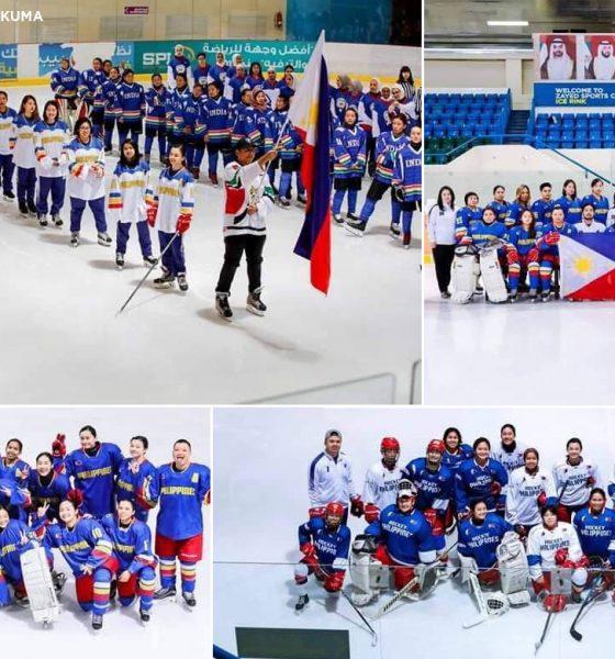 Tiebreaker Times Philippines breaks through with maiden Women's Challenge Cup gold Ice Hockey News  Shaden Ganac Kyla Herbolario Danielle Imperial Bianca Cuevas 2019 IIHF Challenge Cup of Asia