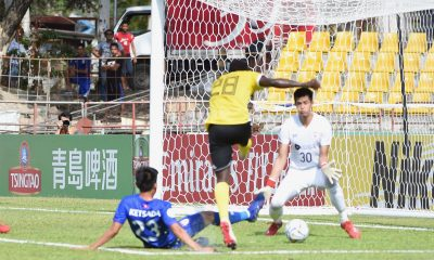 Tiebreaker Times Jordan Mintah scores hattrick as five-star Kaya eases past Lao Toyota AFC Cup Football News  Yannick Tuason Soukthavy Soundala Outthilath Nammakhoth Noel Marcaida Lao Toyota FC Kazuo Homma Kaya-Iloilo FC Jordan Mintah Connor Tacagni 2019 AFC Cup