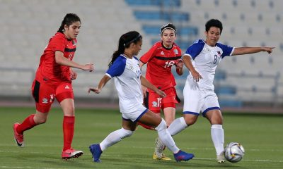 Tiebreaker Times PWNFT end OQT campaign on a high note Football News Philippine Malditas  Stacey Cavill Sara Castaneda Patrice Impelido Palestine (Football) Let Dimzon Joyce Semacio Eva Madarang Alisha Del Ocampo 2020 AFC Women's Olympic Qualifying Tournament