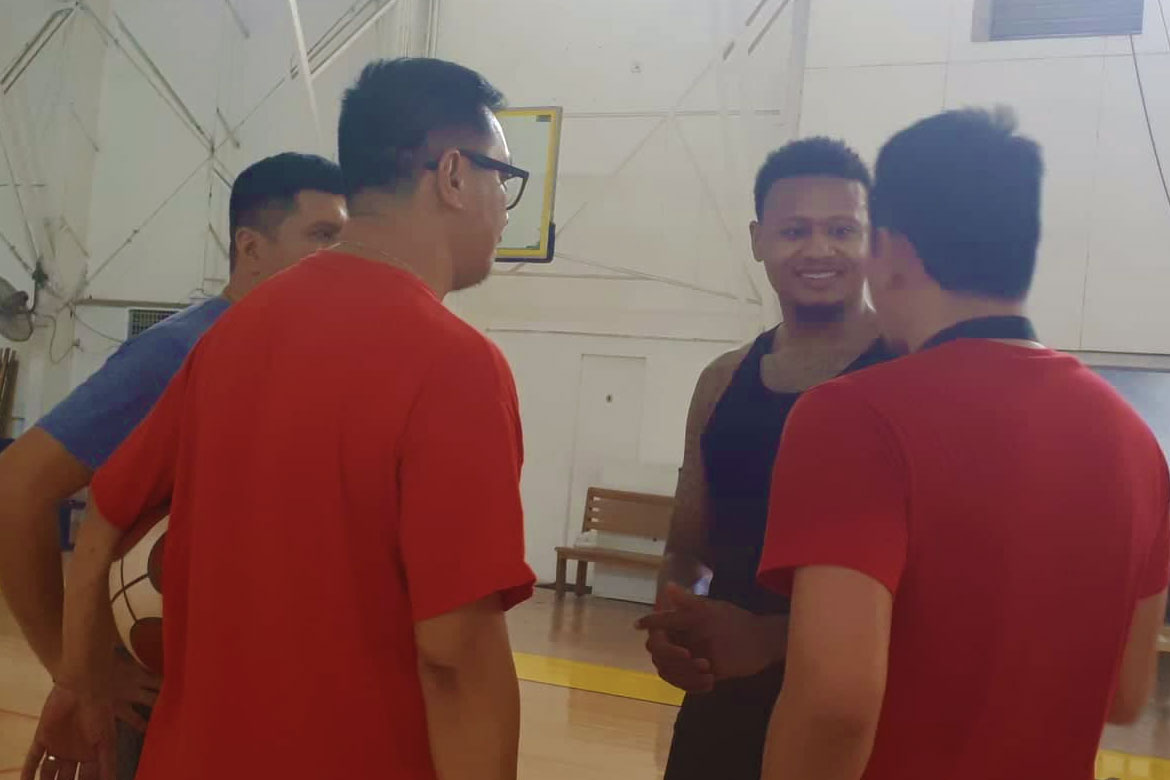 Tiebreaker Times Arrival of Ray Parks fires up Blackwater, says Aris Dimaunahan Basketball News PBA  PBA Season 44 Bobby Ray Parks Jr. Blackwater Elite Aries Dimaunahan 2019 PBA Commissioners Cup