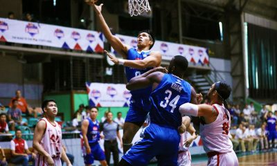 Tiebreaker Times Cignal-Ateneo limits McDavid to just 31 points -- lowest D-League output ever ADMU Basketball News PBA D-League  Thirdy Ravena Tab Baldwin McDavid Ateneo-Cignal Blue Eagles Angelo Kouame 2019 PBA D-League Season