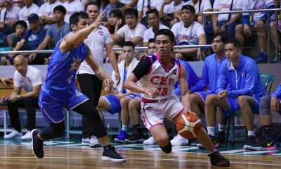 Tiebreaker Times Departure of few not an issue as CEU continues to impress in D-League Basketball News PBA D-League  Keanu Caballero CEU Scorpions 2019 PBA D-League Season