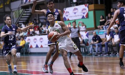 Tiebreaker Times L-Jay Gonzales continues sensational run, lifts FEU past Tolentino-led Wangs Basketball FEU News PBA D-League  Wangs Basketball Couriers Olsen Racela L-Jay Gonzales ChaDao-FEU Tamaraws Brandrey Bienes Arvin Tolentino 2019 PBA D-League Season