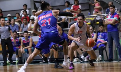 Tiebreaker Times Adrian Wong holds off Che'Lu as Cignal-Ateneo secures twice-to-beat advantage ADMU Basketball News PBA D-League  Thirdy Ravena Tab Baldwin Stevenson Tiu Philip Manalang Mark Bringas Jhaps Bautista Che'Lu Revellers Ateneo-Cignal Blue Eagles Angelo Kouame Adrian Wong 2019 PBA D-League Season