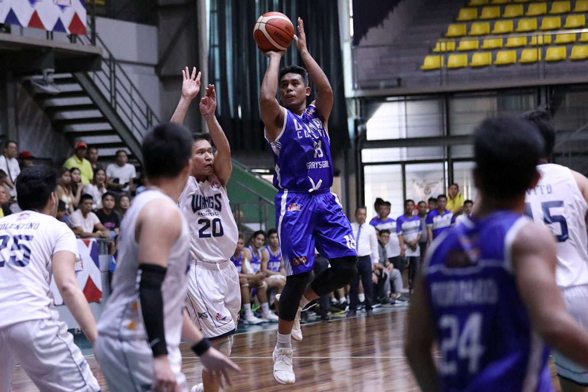 Tiebreaker Times Joseph Brutas nails 6 threes as Diliman-Gerry's overpowers Wangs Basketball News PBA D-League  Rensy Bajar Pablo Lucas Marco Balagtas Kevin Gandjeto Joseph Brutas Diliman College-Gerry's Grill Blue Dragons Axel Inigo Arvin Tolentino