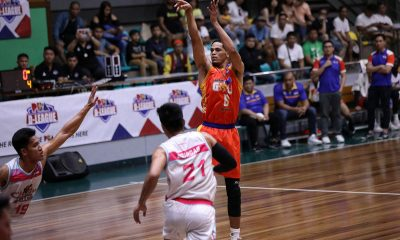 Tiebreaker Times Roosevelt Adams lifts Go for Gold-CSB past Che'Lu for 2nd straight win Basketball CSB News PBA D-League  Yankie Haruna Roosevelt Adams Justin Gutang Jhaps Bautista Jessie Collado Jeff Viernes Go for Gold-CSB Clement Leutcheu Che'Lu Revellers Charles Tiu 2019 PBA D-League Season