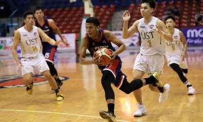 Tiebreaker Times Aldin Ayo proud to see Jerrick Balanza showing same traits as Cruz, Racal Basketball CSJL News PBA D-League UST  Letran-Petron Knights Jerrick Balanza Ironcon-UST Growling Tigers Aldin Ayo 2019 PBA D-League Season