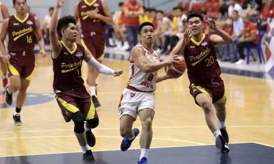 Tiebreaker Times RK Ilagan sensational once again as Valencia-Baste drops 31-point hammer on Perpetual Basketball News PBA D-League SSC-R UPHSD  RK Ilagan Perpetual Seniors Basketball JM Calma Jielo Razon Jeffer Egan Frankie Lim Egay Macaraya City of Valencia Bukidnon-San Sebastian Golden Harvest Allyn Bulanadi 2019 PBA D-League Season